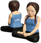 Yoga Girl Stress Balls